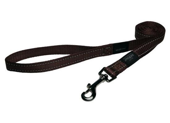 Dog Lead - Large - Chocolate