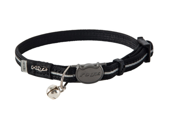 Cat Collar - Webbing - Black