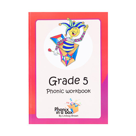 Grade 5 Phonic Workbook