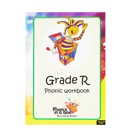 Grade R Phonic Workbook (Primary Font) OUT OF STOCK
