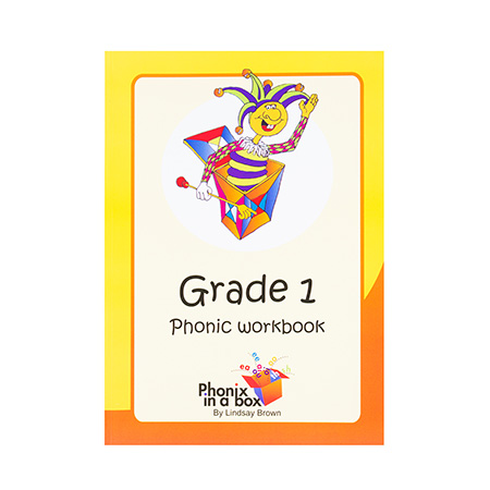 Grade 1 Phonic Workbook (Sassoon Font)