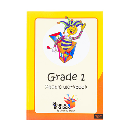 Grade 1 Phonic Workbook (Primary Font)