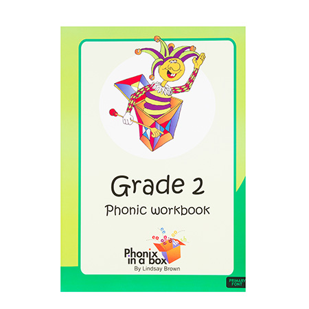 Grade 2 Phonic Workbook (Primary Font)