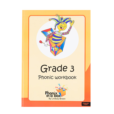 Grade 3 Phonic Workbook (Primary Font)