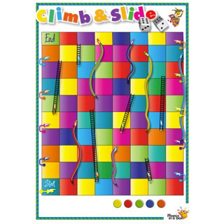 Grade 3 book 'i' and 'e' - Climb & Slide