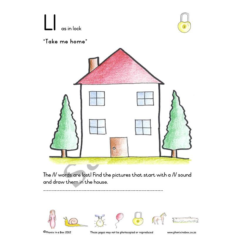 Grade 1 Phonic Workbook (Sassoon Font)