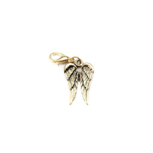 Angel Wings Dangle (Gold)