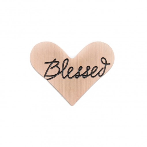 Blessed Heart Journey Plate (Bronze)