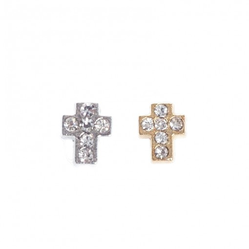 Diamante Cross (Silver/Gold)