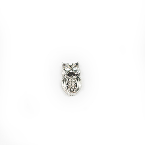 Diamante Owl Charm