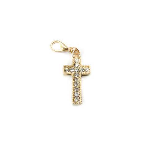 Gold Cross Dangle