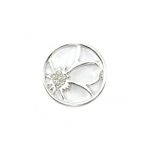 Lily Glam Plate (Silver)