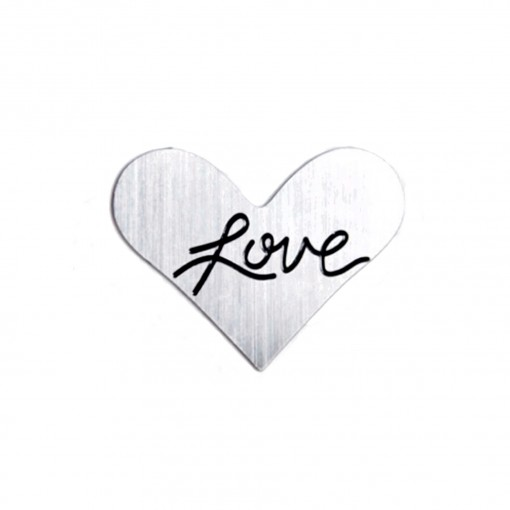 Love Heart Journey Plate (Silver)