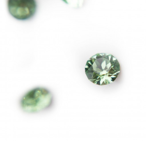 Peridot with Swarovski Elements (Set of 4)