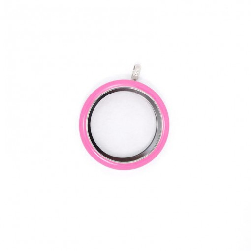 Fun Locket: Fuchsia Pink (Large) - Twist Top