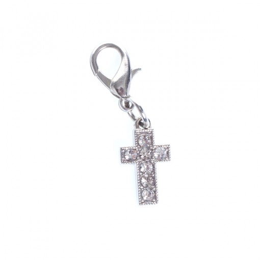 Silver Cross dangle