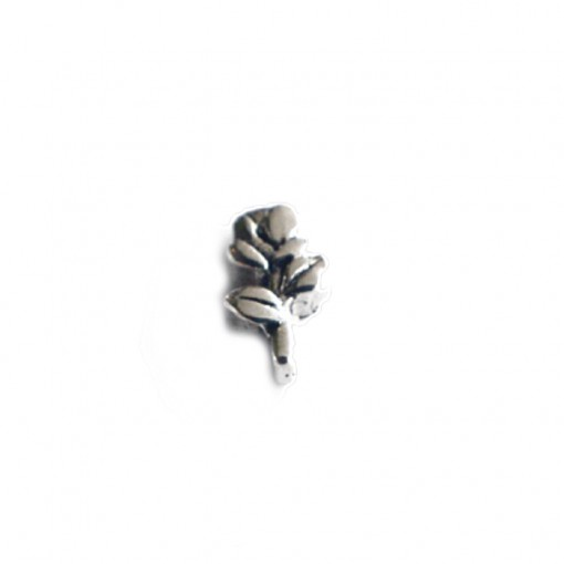Single Silver Rose