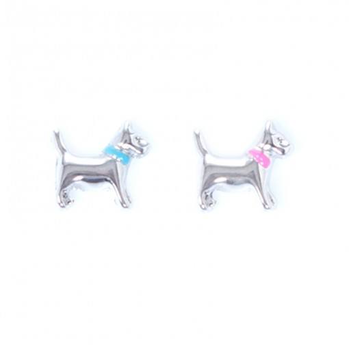 Silver Terrier (Pink/Blue)