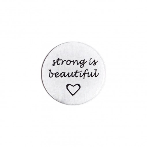 Strong is Beautiful Journey Plate (Lrg)