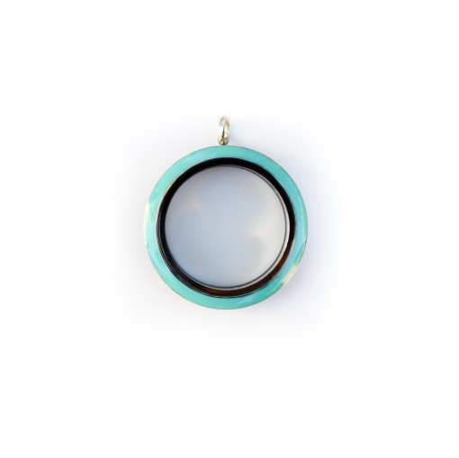 Fun Locket: Turquoise (Large) - Twist Top