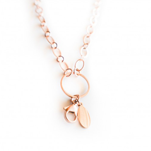 Long Large Loop Chain (Rose Gold)