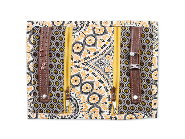 Jewellery Travel Purse - Gypsey Latte