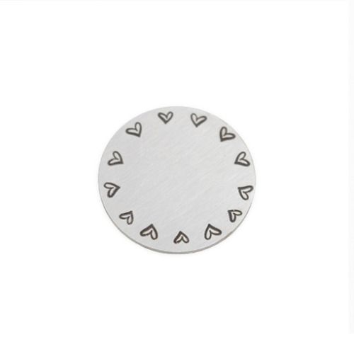 Hearts Story Plate - Large