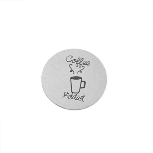 Coffee Addict Plate