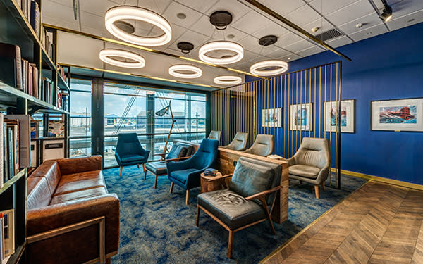 Standard Bank Library Lounge by Design Partnership