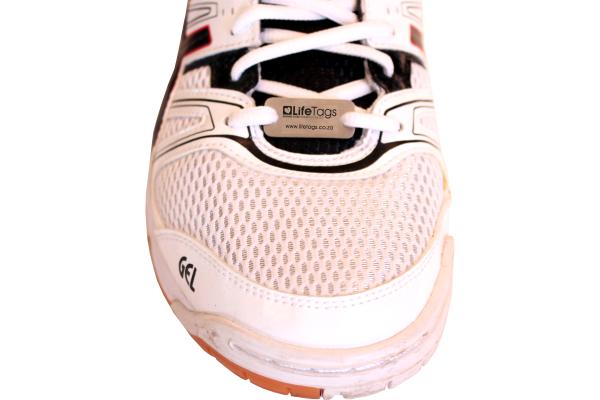 Shoe ID Tag