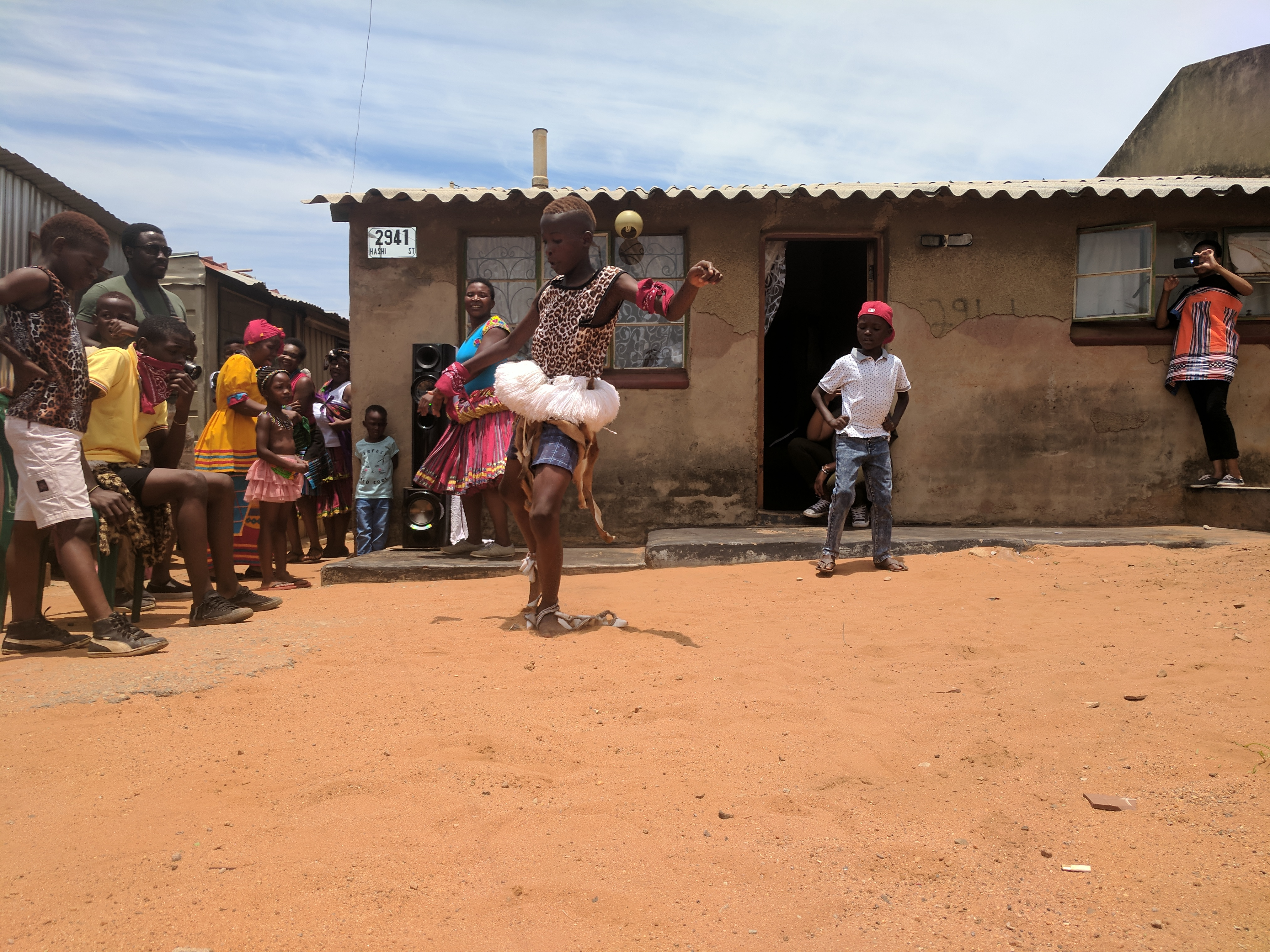 Soweto - Township dancing