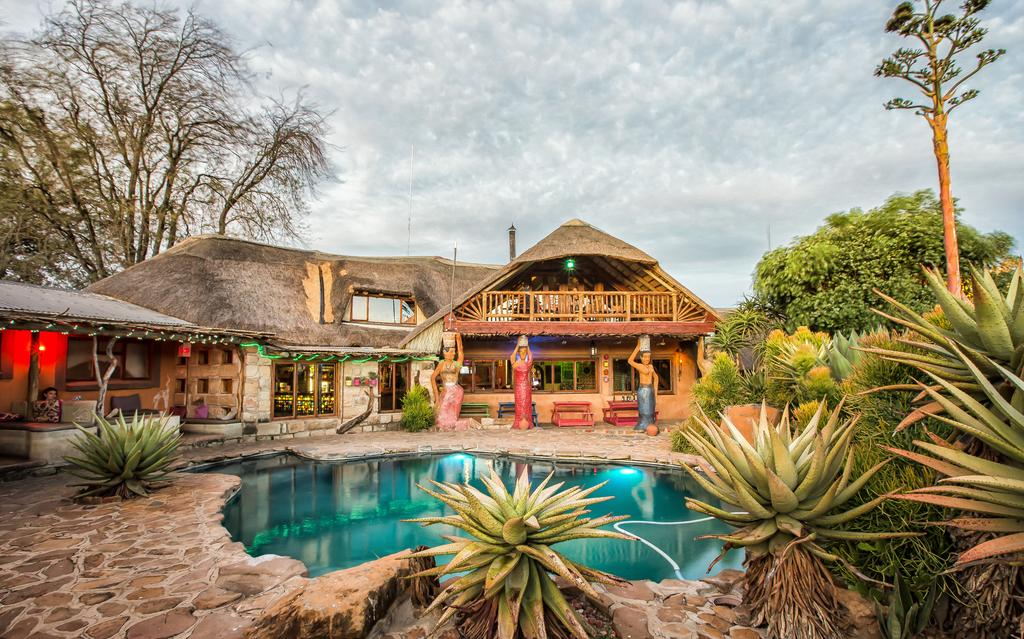 Relaxing vibes at Amphitheathre Lodge