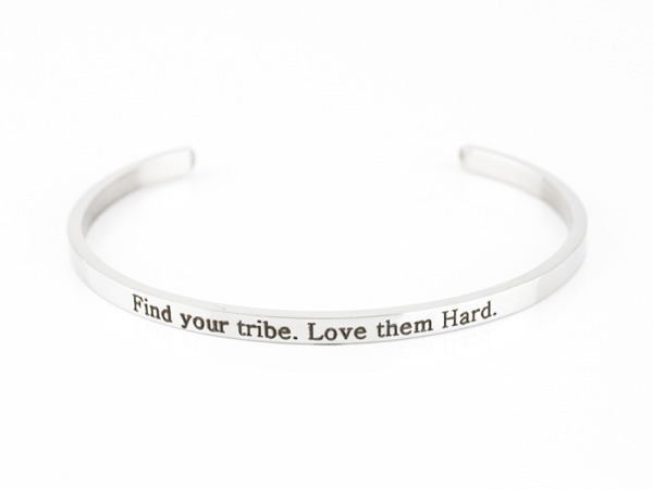 """Find Your Tribe"" Bracelet"