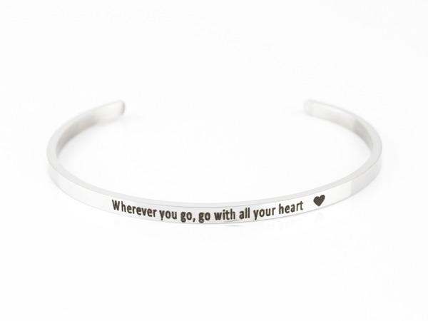 """Wherever You Go"" Bracelet"