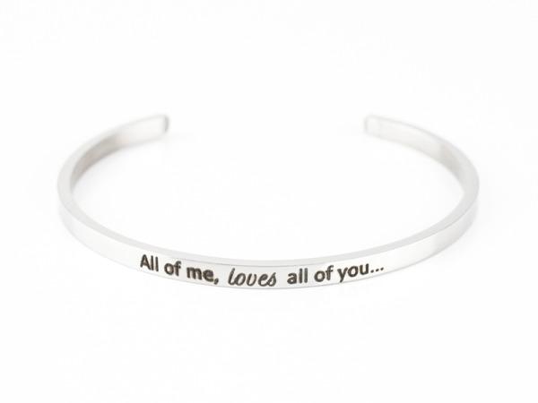 """All Of Me"" Bracelet"