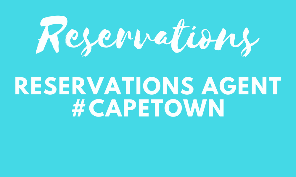 Reservation agent - Cape Town