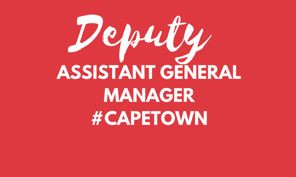Deputy General Manager - Cape Town