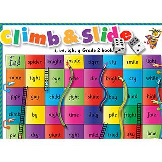 Grade 2 book: i, i-e, igh, y - Climb & Slide