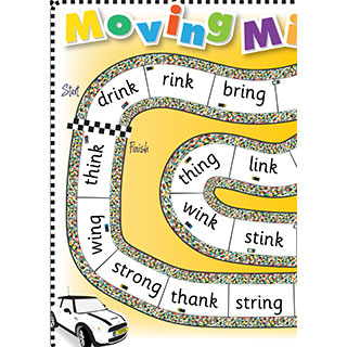 Grade 2 book: 'ng' and 'n' - Moving Minis