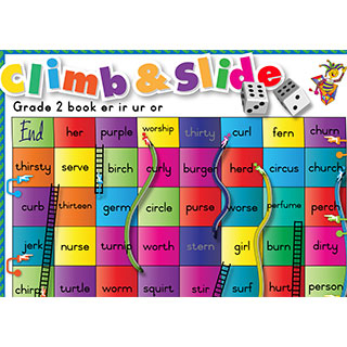 Grade 2 book er ir ur or - Climb & Slide