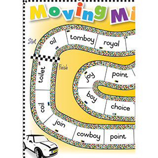 Grade 2 book: 'oi' and 'oy' - Moving Minis