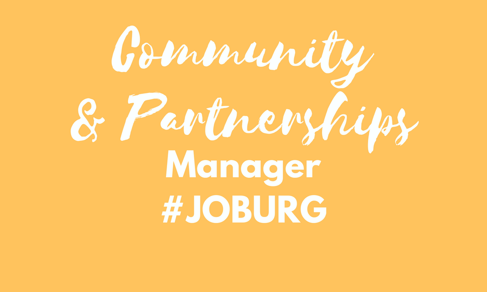 Community and Partnership manager