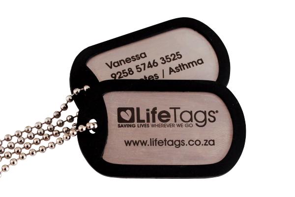 LifeTags-Medical ID DogTags