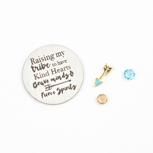 Raising My Tribe Charm Set - Large