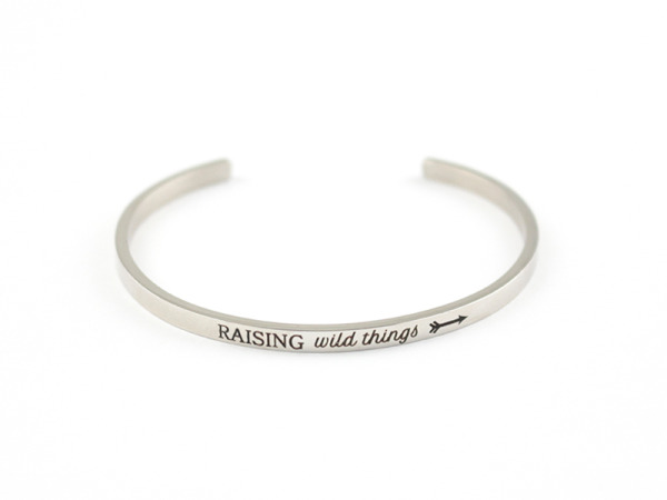 """Raising Wild Things"" Bracelet"