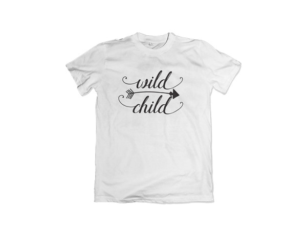 """Wild Child"" Kiddies T-Shirt"