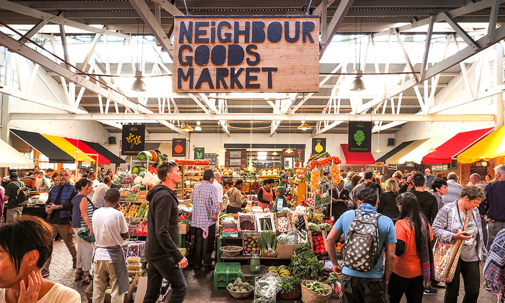 Markets in and around Joburg