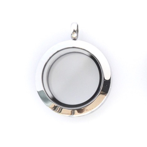 Silver Wanderlust Locket (Medium)