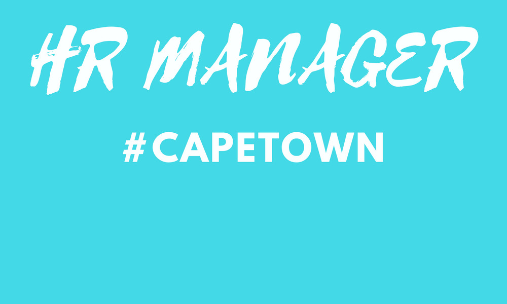 HR Manager Cape Town