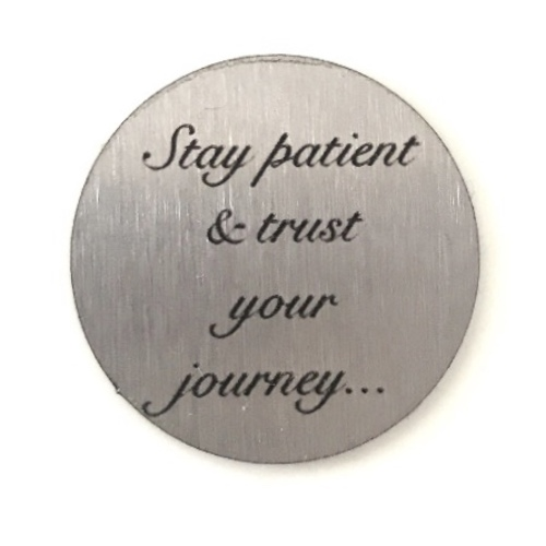 Trust Your Journey Journey Plate - Large